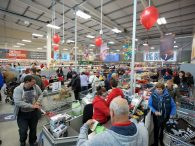 The Food Warehouse Store Opening at Anlaby Retail Park
